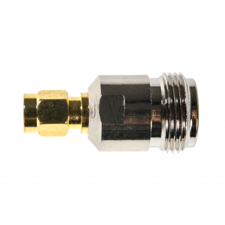 Male SMA to Female N-Connector Adapter