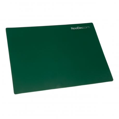 "NooElec Soldering and Circuit Repair Mat, 8"" x 6"" (20cm x 15cm). ESD and High-Temperature Safe"