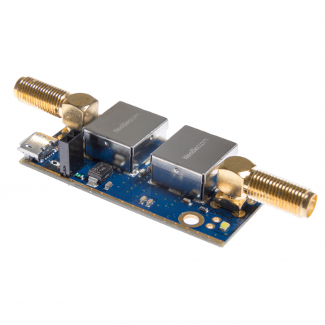 Nooelec SAWbird+ GOES Barebones - Premium SAW Filter & Cascaded Ultra-Low Noise LNA Module for NOAA (GOES/LRIT/HRIT) Applications. 1688MHz Center Frequency.