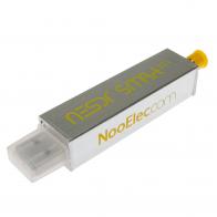Nooelec NESDR SMArt XTR Bundle - Premium RTL-SDR w/ Extended Tuning Range, Aluminum Enclosure, 0.5PPM TCXO, SMA Input & 3 Antennas
