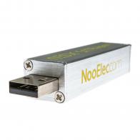 NooElec NESDR SMArTee XTR SDR - Premium RTL-SDR w/ Extended Tuning Range, Aluminum Enclosure, Bias Tee, 0.5PPM TCXO, SMA Input
