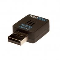 NooElec NESDR Nano 2 - Tiny Custom RTL-SDR USB Set w/ R820T2 Tuner, Antenna and Remote Control