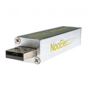 NooElec NESDR SMArTee XTR Bundle - Premium RTL-SDR w/ Extended Tuning Range, Aluminum Enclosure, Bias Tee, 0.5PPM TCXO, SMA Input & 3 Antennas