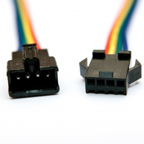 JST-SM Connector Set, 4-Pin