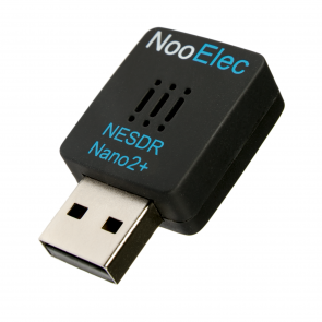 Nooelec NESDR Nano 2+: Tiny RTL-SDR USB Set w/ 0.5PPM TCXO, R820T2 Tuner, Antenna and Remote Control