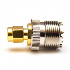 Male SMA to SO-239 (Female UHF) Adapter
