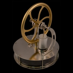 Stirling Engine Educational Demo