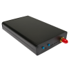 Extruded Aluminum Enclosure Kit for HackRF One