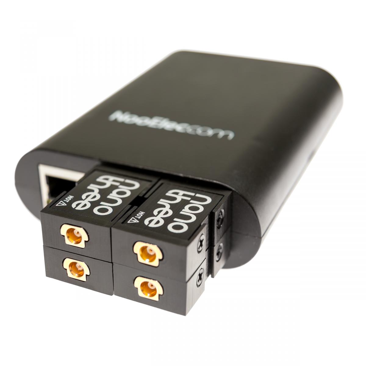 Nooelec NESDR Nano 3: Tiny RTL-SDR USB Set w/ 0 5PPM TCXO, SMA Input,  Aluminum Enclosure and Custom Heatsink