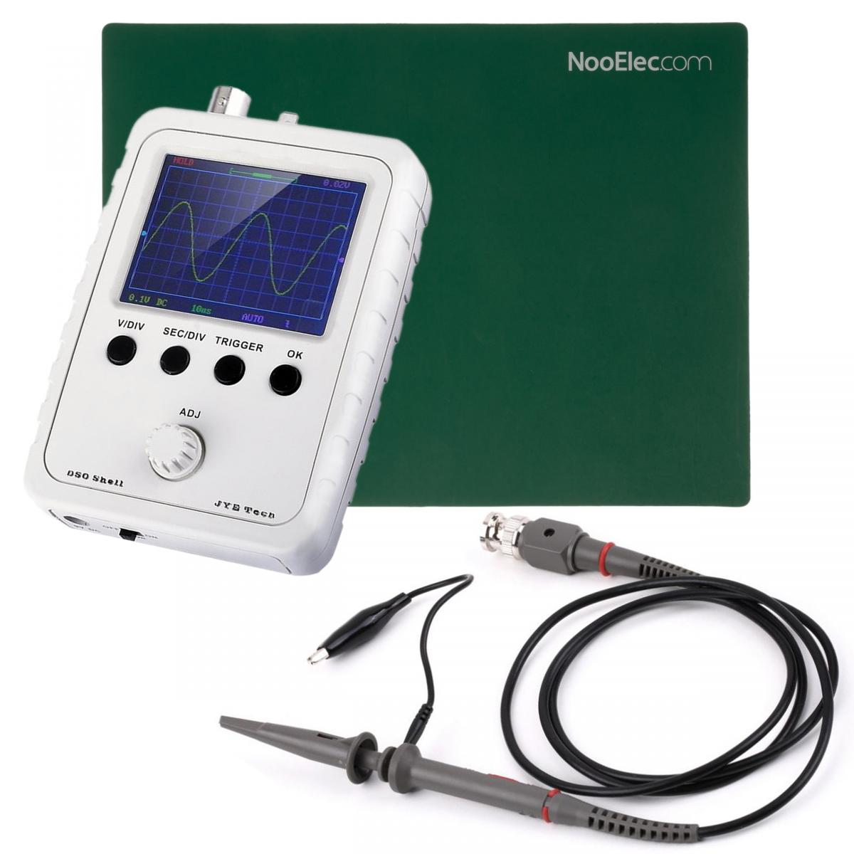 Nooelec Jyetech Dso Shell Oscilloscope Diy Kit Bundle