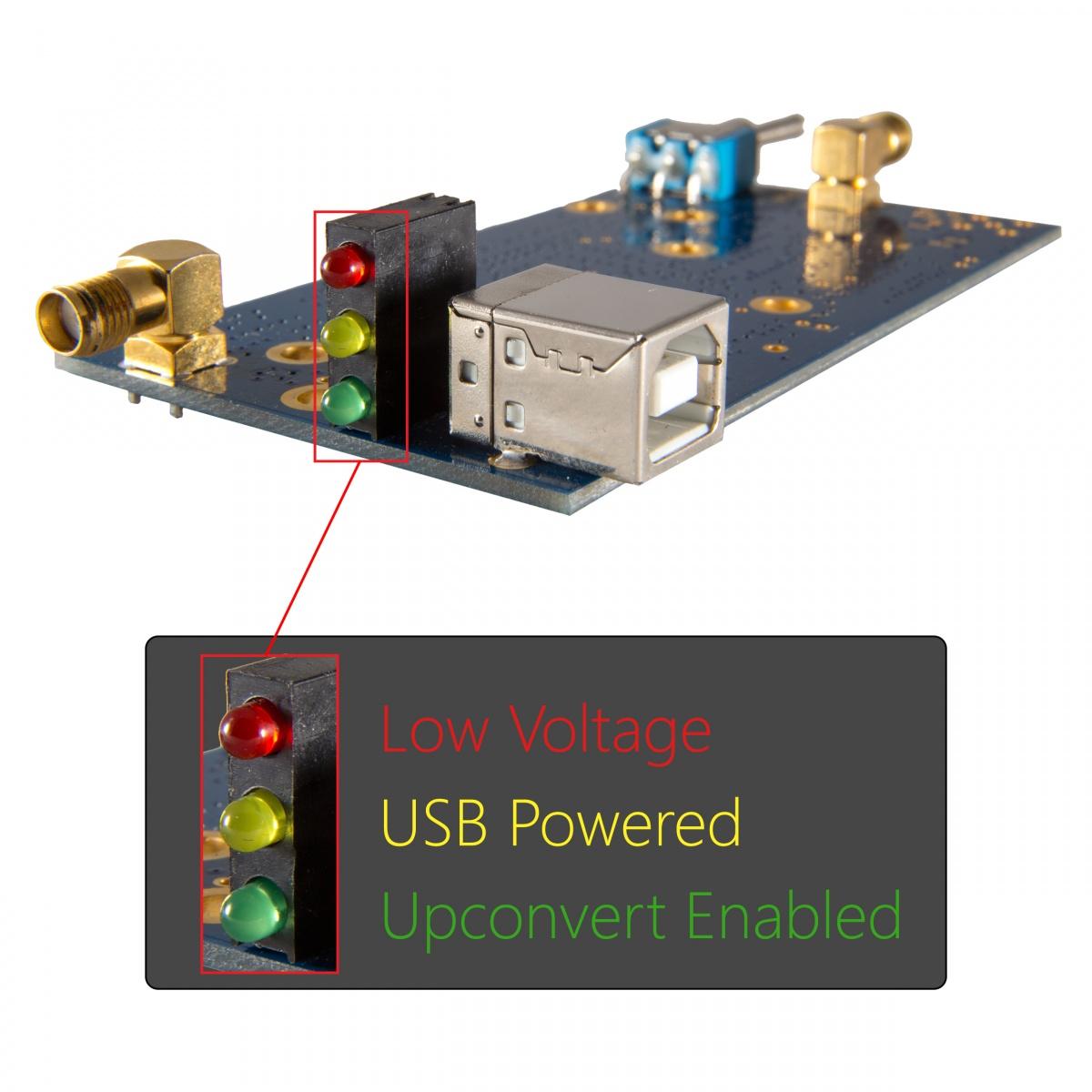 Nooelec Ham It Up V13 Barebones Hf Upconverter Usbpowered Pic Programmer Circuit Diagram