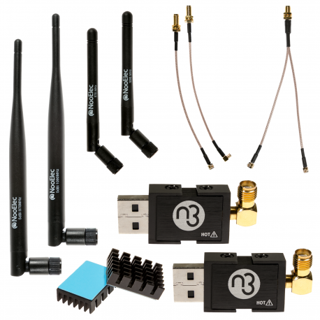 Stratux ADS-B Bundle: Dual-Band NESDR Nano 3