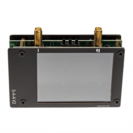"NanoVNA v2 S-A-A-2: 50kHz-3000MHz+ Portable Vector Network Analyzer w/ 2.8"" LCD Screen & SOLT Calibration Kit"