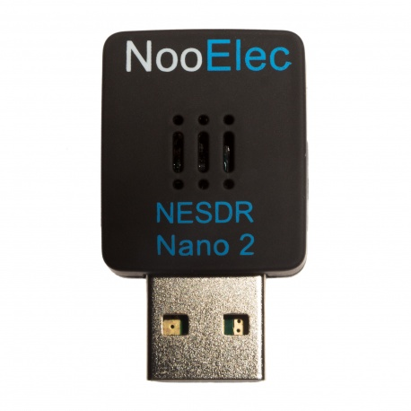 NooElec NESDR Nano 2: Tiny RTL-SDR USB Set w/ R820T2 Tuner, Antenna and Remote Control
