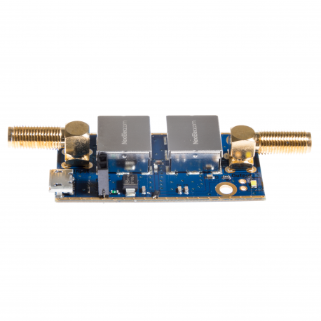 Nooelec SAWbird+ iO Barebones - Premium SAW Filter & Cascaded Ultra-Low Noise LNA Module for L-Band (Inmarsat AERO/STD-C) Applications. 1542MHz Center Frequency