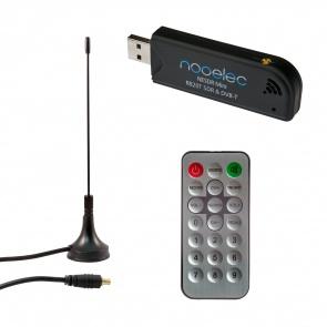 Nooelec NESDR Mini SDR & DVB-T USB Stick (RTL2832 + R820T) w/ Antenna and Remote Control