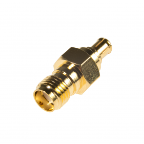 Male MCX to Female SMA Adapter