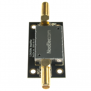 Nooelec SAWbird iO Barebones - Premium Dual Ultra-Low Noise Amplifier (LNA) & SAW Filter Module for L-Band (Inmarsat AERO/STD-C) Applications. 1542MHz Center Frequency