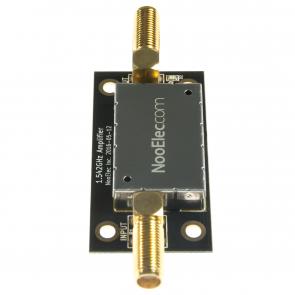 Nooelec SAWbird iO Barebones - Premium Dual Ultra-Low Noise Amplifier (LNA) & SAW Filter Module for L-Band (Inmarsat AERO/STD-C) Applications. 1542MHz Center Frequency
