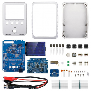 JYETech 'DSO Shell' Oscilloscope DIY Kit Bundle w/ 100MHz Probe & ESD-Safe Silicone Mat
