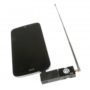 Nooelec NESDR Nano 3 USB OTG Bundle - Tiny RTL-SDR USB On-The-Go Bundle for MicroUSB Devices