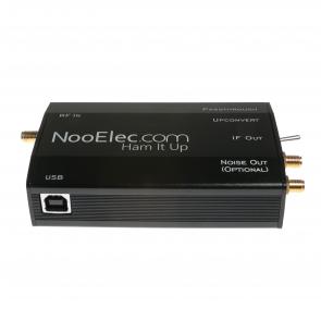 Ham It Up Plus - HF Upconverter w/ Black Enclosure, TCXO, ULF Support & Noise Source