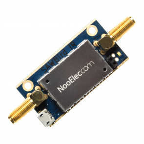 Nooelec SAWbird IR Barebones - Premium Dual Ultra-Low Noise Amplifier (LNA) & SAW Filter Module for Iridium and Inmarsat Applications. 1620MHz Center Frequency