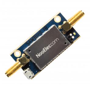 Nooelec SAWbird IR Barebones - Premium Dual Ultra-Low Noise Amplifier (LNA) & SAW Filter Module for Iridium and Inmarsat Applications. 1620MHz Center Frequency
