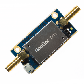 Nooelec SAWbird GOES Barebones - Premium Dual Ultra-Low Noise Amplifier (LNA) & SAW Filter Module for NOAA (GOES/LRIT/HRIT/HPRT) Applications. 1688MHz Center Frequency