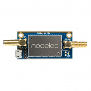 Nooelec SAWbird+ H1 Barebones - Premium SAW Filter & Cascaded Ultra-Low Noise Amplifier (LNA) Module for Hydrogen Line (21cm) Applications. 1420MHz Center Frequency