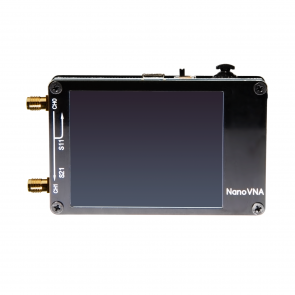 NanoVNA Bundle - Includes 50kHz-900MHz+ Portable Vector Network Analyzer, SOLT Calibration Kit, 6pc Attenuator Set, Quick Connect Adapters, Low-Loss LMR200 Cables, Case & More!
