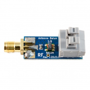 Balun One Nine - Tiny Low-Cost 1:9 HF Antenna Balun