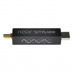 Nooelec NESDR SMArTee v2 SDR - Premium RTL-SDR w/ Aluminum Enclosure, Bias Tee, 0.5PPM TCXO, SMA Input. RTL2832U & R820T2-Based