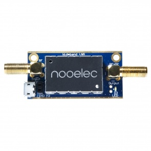 Nooelec LaNA Barebones - Wideband Ultra Low-Noise Amplifier (LNA) Module. 20MHz-4GHz Capability w/ Bias-Tee, USB & DC Power Options