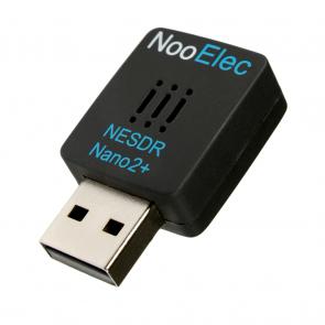 Nooelec NESDR Nano 2+: Tiny RTL-SDR USB Set w/ 0.5PPM TCXO, R820T2 Tuner & Antenna