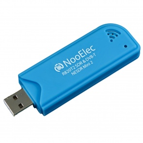 NooElec NESDR Mini 2 SDR & DVB-T USB Stick (RTL2832 + R820T2) w/ Antenna and Remote Control