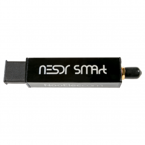 Nooelec NESDR SMArt SDR - Premium RTL-SDR w/ Aluminum Enclosure, 0.5PPM TCXO, SMA Input. RTL2832U & R820T2-Based