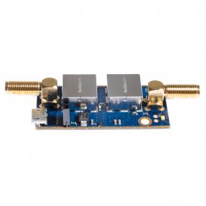 Nooelec SAWbird+ iO Barebones - Premium SAW Filter & Cascaded Ultra-Low Noise LNA Module for L-Band (Inmarsat AERO/STD-C) Applications. 1542MHz Center Frequency