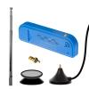 Nooelec NESDR Mini 2+ 0.5PPM TCXO USB RTL-SDR Receiver (RTL2832 + R820T2) w/ Antenna